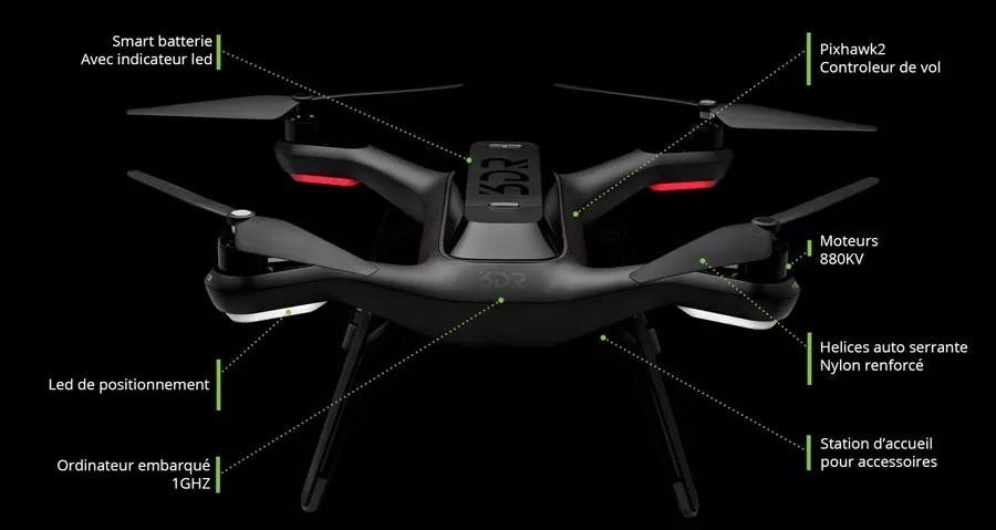 drone parrot disco prix